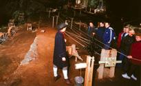 Rope making in Peak Cavern