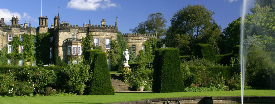 Renishaw Hall gardens