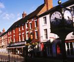Ashbourne market town